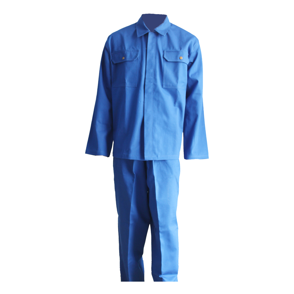 blue cotton-padded flame retardant coverall(YL-230)