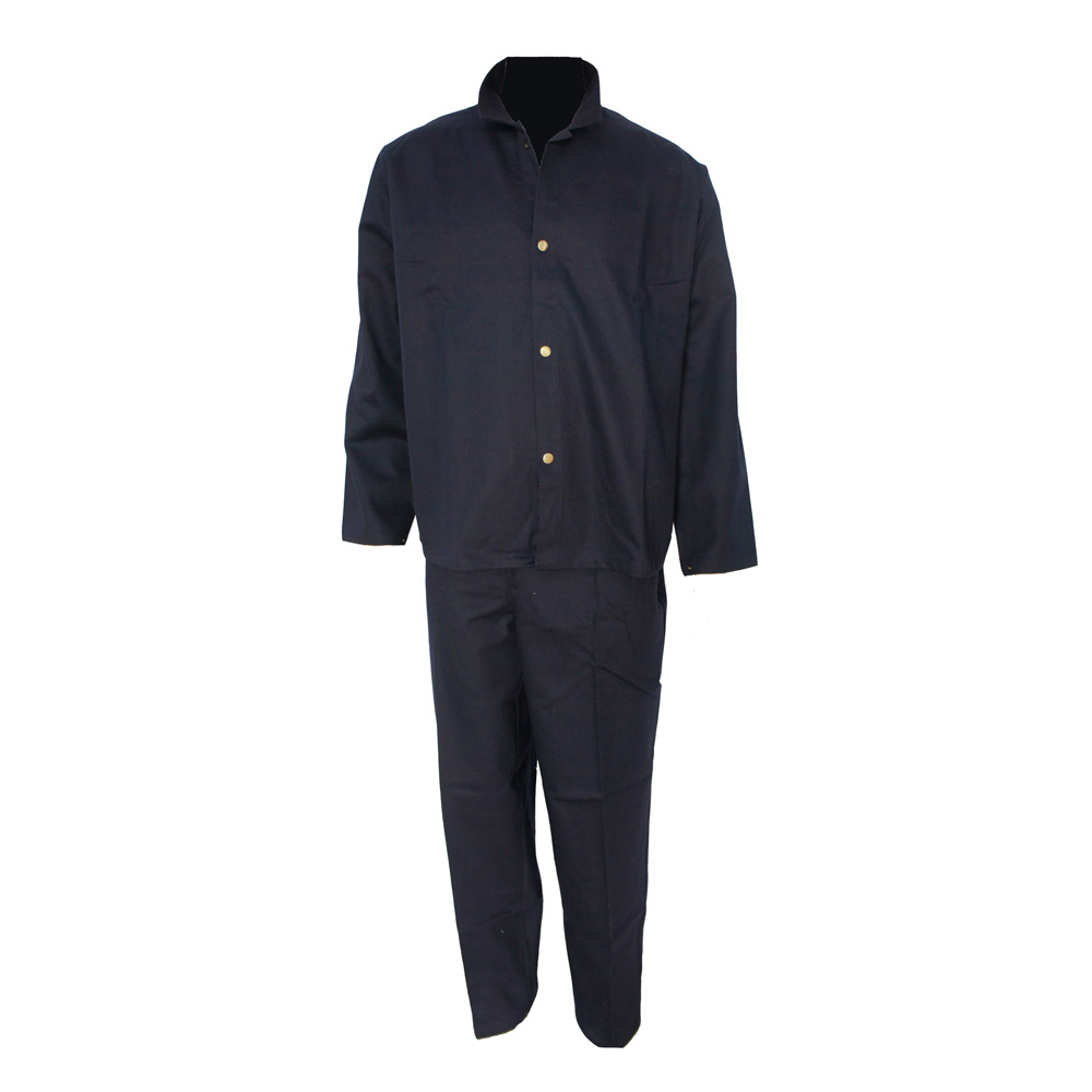 dark blue color flame retardant suit from Yulong Textile