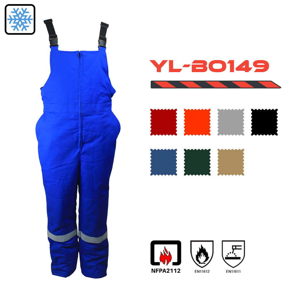 Cotton Fire Retardant Bib Pants