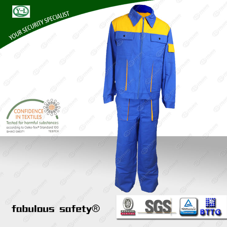 protective safety work wear from Yulong Textile