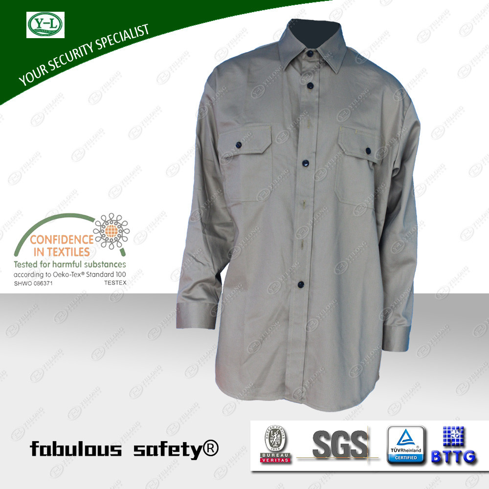 flame retardant shirt from Yulong Textile
