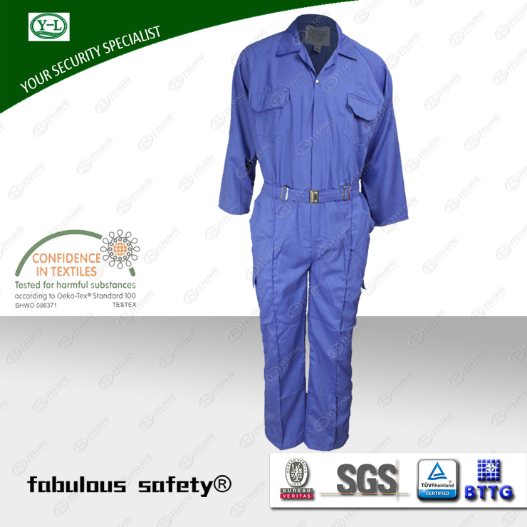 anti-static coveralls from Yulong Textile