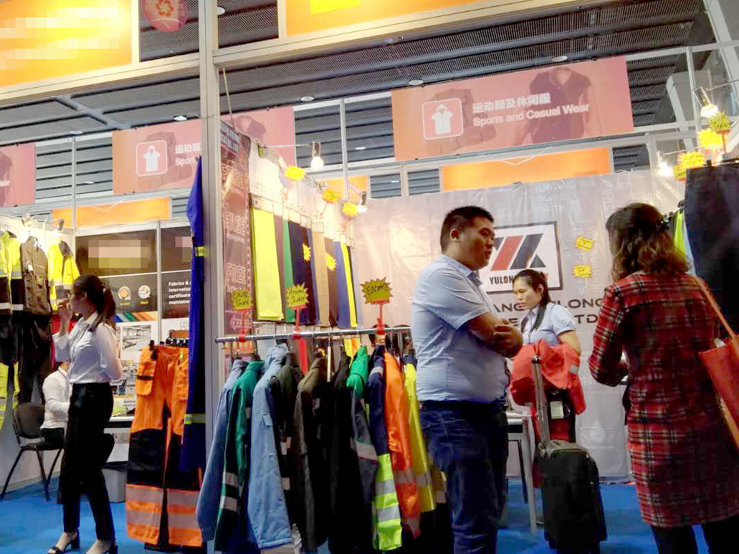 Yulong textile are ready to exhibition preparations for the 122nd Canton fair