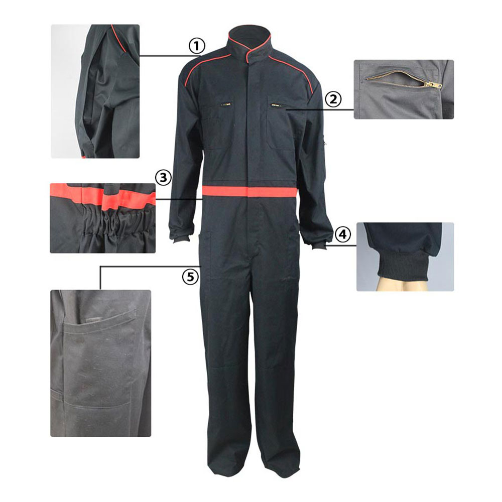 cotton polyester arc flash coverall