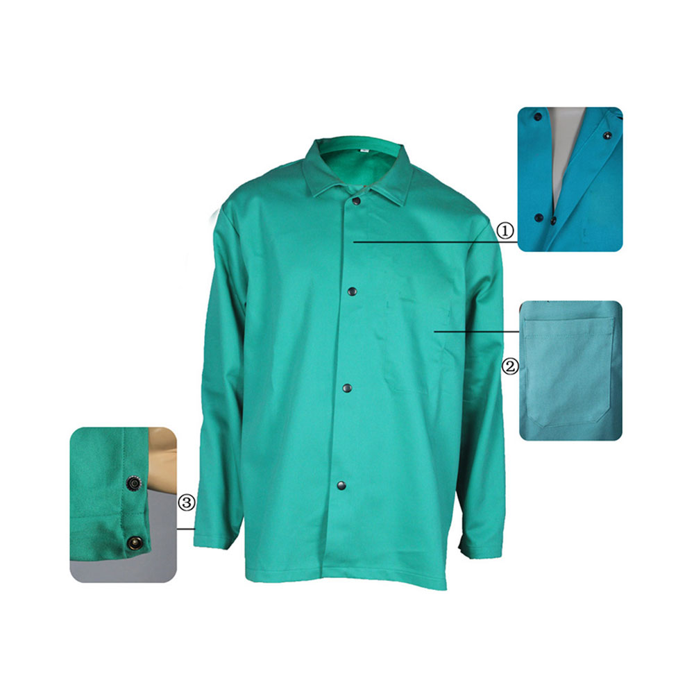 Aramid IIIA Arc Proof Anti Static Fire Retardant Jackets