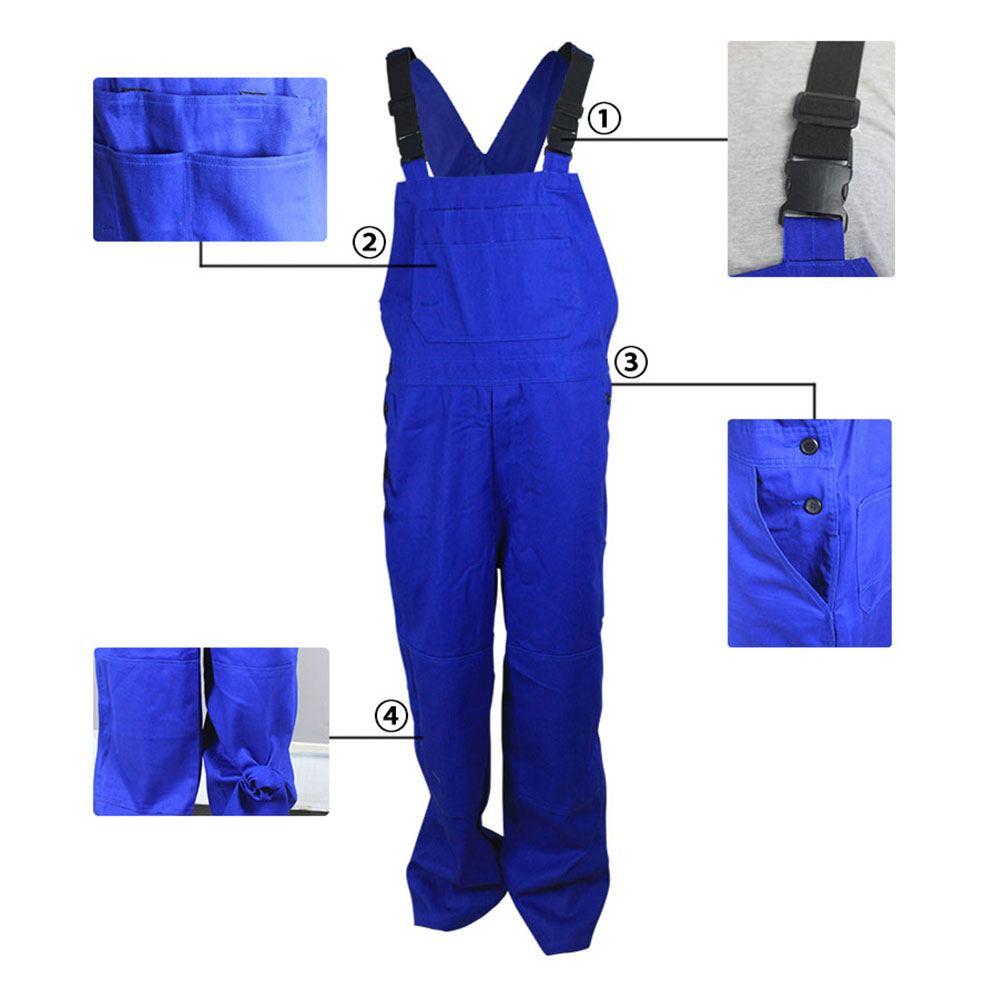 Anti-Static Fire Retardant Bib Pants