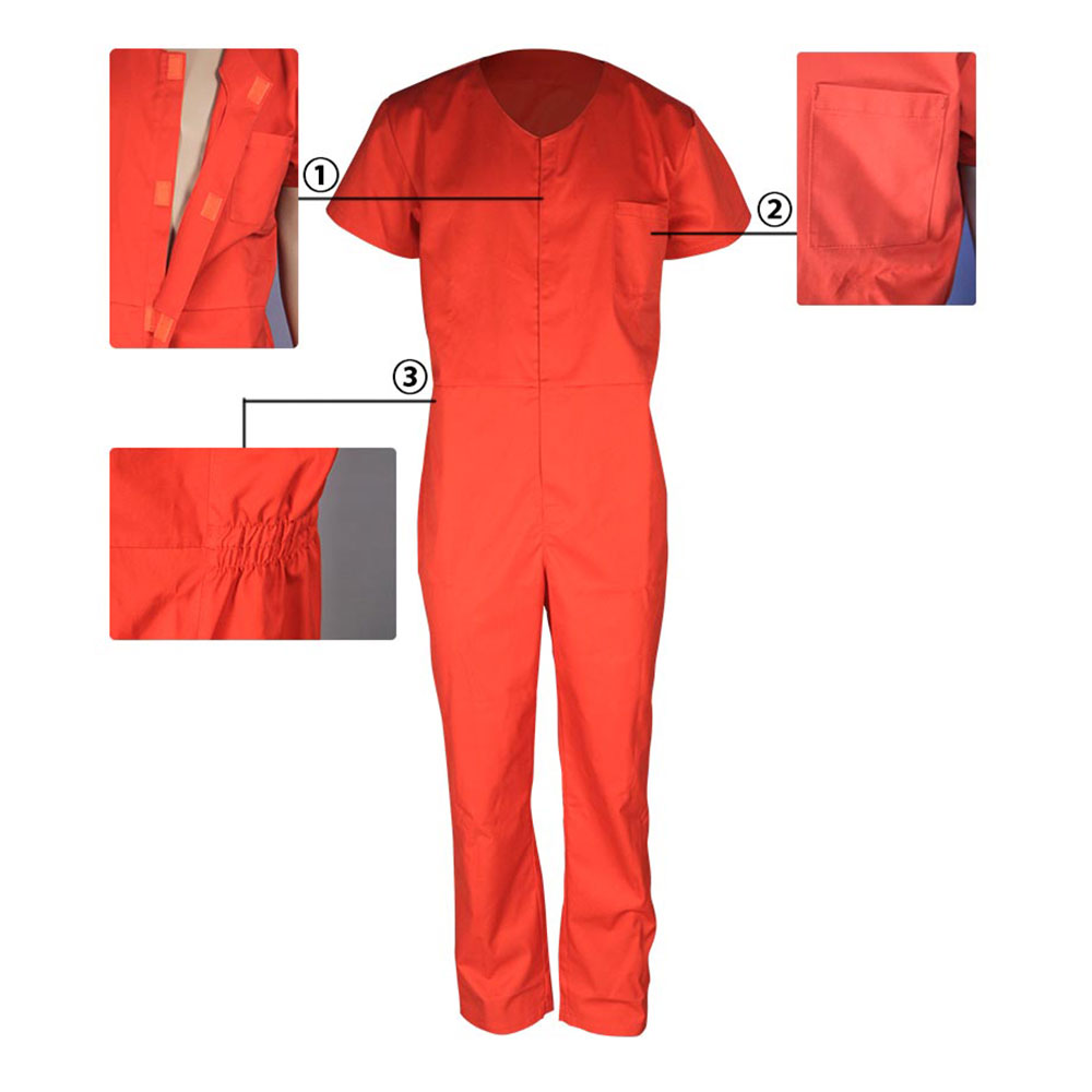 water proof short sleeves coverall