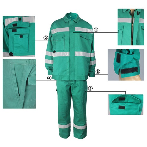 flame retardant arc proof work wear