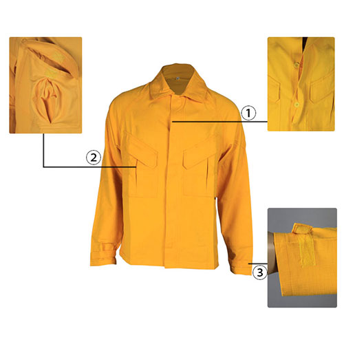 flame resistant anti-static jacket