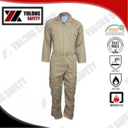 Wholesale Manufacture Service EN11612 Functional Protective Safety Cotton Fireproof Anti-static Workwear