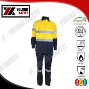 Satin Weave Fire Resistant Water Proof Workwear Used In Manufacture, View Fire Resistant Workwear, Fabulous Safety Product Details