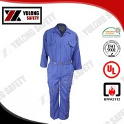 anti flame bulletproof overall with reflective tape, View bulletproof overall, Yulong Textile Product Details