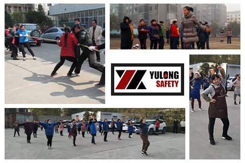 Yulong Textile Successfully Hosted the Winter Games