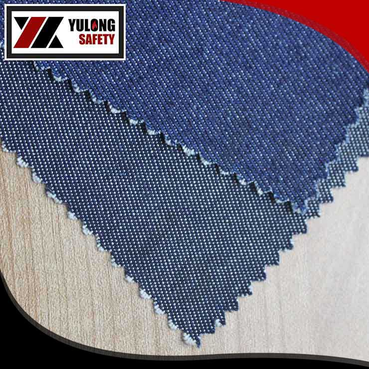 100% cotton fire retardant denim fabric of 400gsm