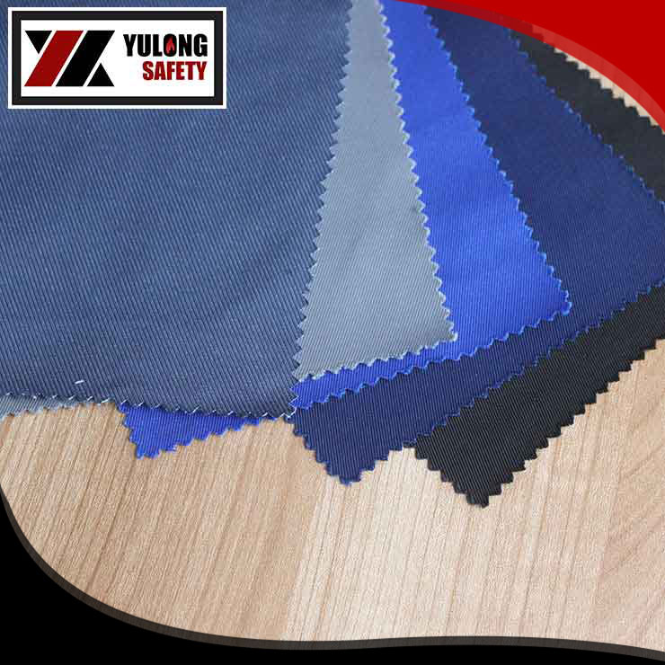 CVC 65/35 fire retardant cloth 240g