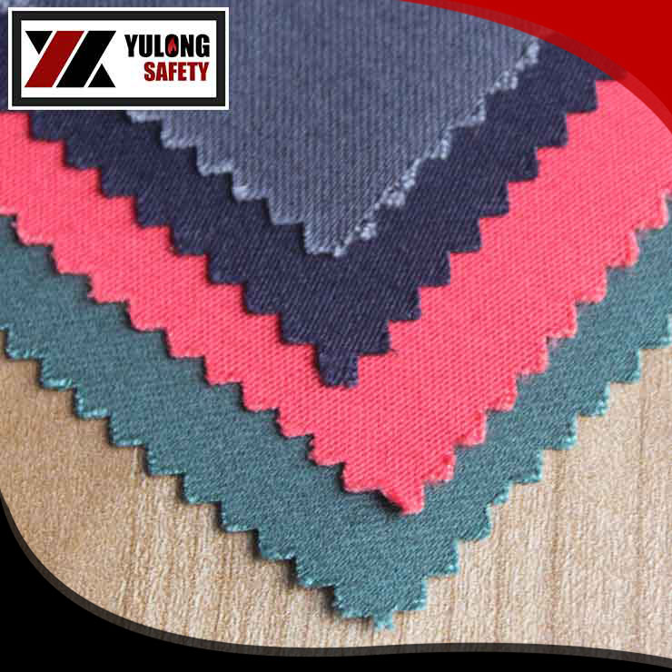 C/N 88/12 cotton nylon fire retardant twill fabric of 245gsm