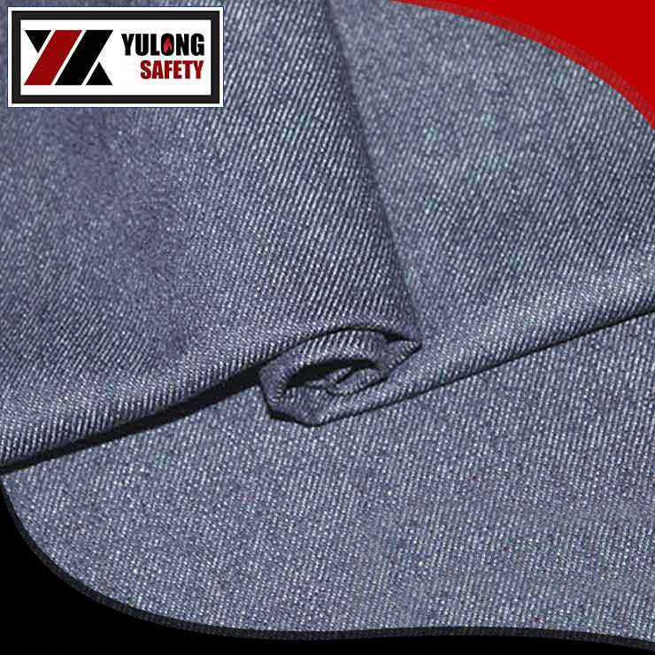 CVC 60/40 anti acid flame retardant oil repellent fabric