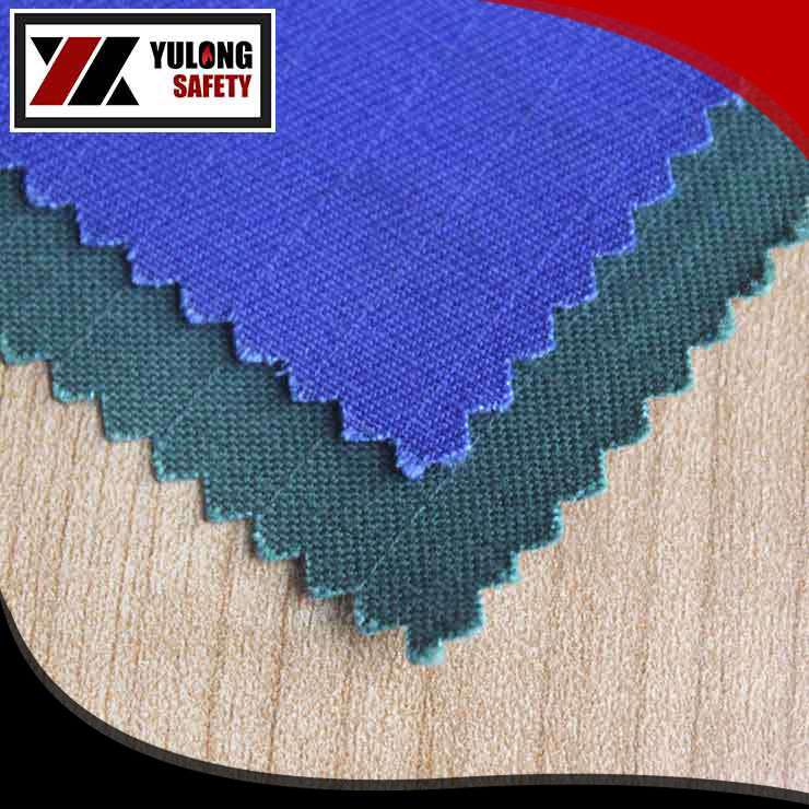 100% cotton fire retardant anti-static twill fabric